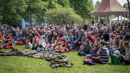 The Garden Party is at Chapelfield Gardens on May 18 and May 19. Picture: Dibs McCallum