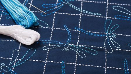 Japanese Sashiko embroidery workshop is at ArtatWork on May 23. Picture: Getty Images