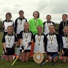 The Harleston Magpies Under-12 squad who are competing in the national finals at Nottingham Picture: