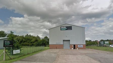 The Eternity Church in Downham Market, where a new Men's Shed could be built Picture: Google