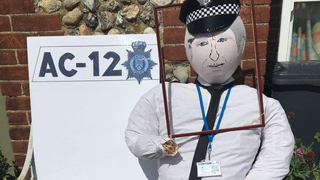 Organisers of a popular north Norfolk festival are appealing for a beloved scarecrow to be returned
