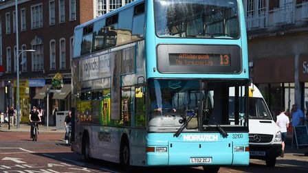 First Buses in Norwich has more vehicles dating from 2002 than any other year. Photo: Archant