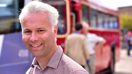 Steve Wickers managing director of First said old buses were being upgraded. Picture: Nick Butcher