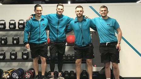 Pure Gym staff in the gym on Copenhagen Way. A new gym is opening in Castle Mall which will be manag