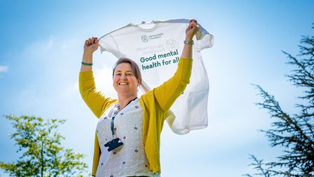 NSFT Dr. Jemima Jackson who is taking part in a charity skydive to raise funds for Mental Health Fou