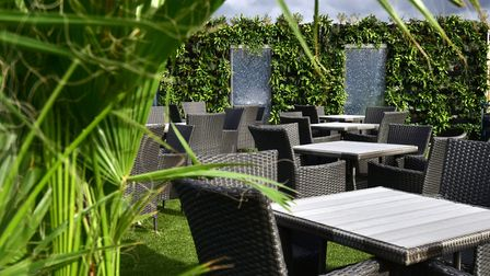 Rooftop Gardens bar and restaurant at Union.Picture: ANTONY KELLY