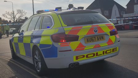 Police were called to Wroxham Road at 3.45pm on Friday, April 5 to reports of a collision between a