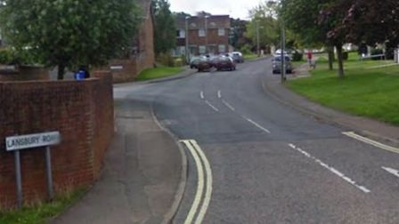 Knife-wielding robbers entered a house on Lansbury Road, Halesworth on Thursday, April 18 while a ma