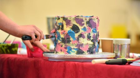 The Great Norwich Bake Off competition which is raising money for mental health charity MIND. PICTUR