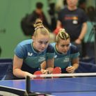 Mollie Patterson retained the junior mixed doubles title at the PG Mutal Cadet & Junior National Cha