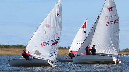 Action from Hickling Broad SC Picture: Ian Symonds