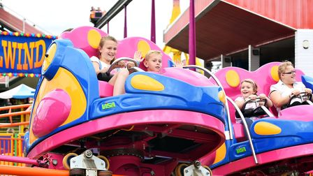 All the fun of the fair at Great Yarmouth Pleasure Beach.Picture: James Bass