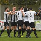 Harleston Town are facing a return to the Anglian Combination League Picture: DENISE BRADLEY