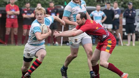 More running rugby in the Dardan Security Sevens Picture: HYWEL JONES