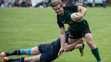 North Walsham on the attack in the sevens competition hosted by the club Picture: HYWEL JONES