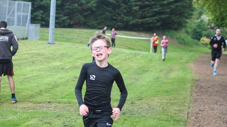 Loch Neaton parkrun on Saturday 18th May 2019. Picture: Louy Howes