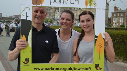 Lowestoft parkrun on Saturday 18th May 2019. Picture: Gary Pembroke
