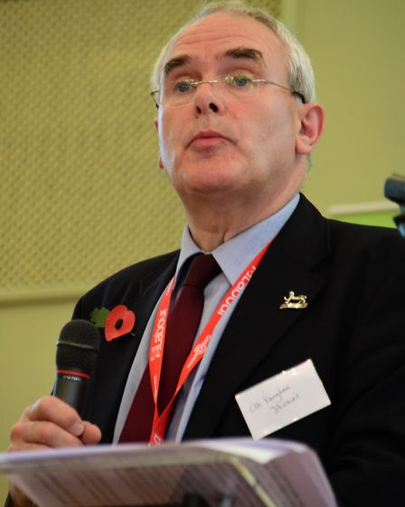 Labour councillor Vaughan Thomas, who is set to pip Kenny McLean to the post of lord mayor Picture: