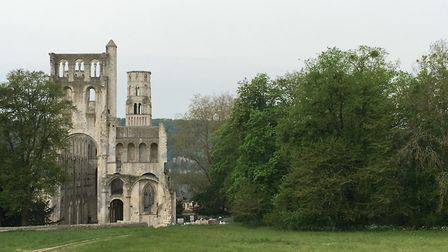 The ruins of Jumieges Abbey Picture: Steven Downes