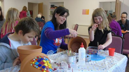 Mousehold Community hub hosted an open day today to show the public its dedicated community work. Ph