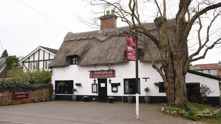 Masala Cottage at Brundall closed after a re-possession notice has been put on it. Picture: DENISE