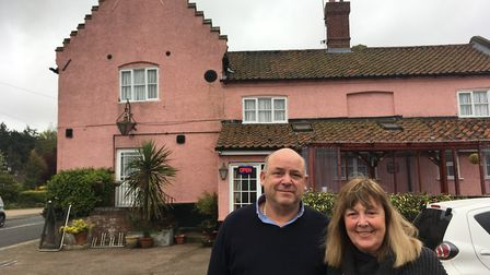 Clint Smith and Shirley Rogers will be leaving The Dog Inn in Horsford in December after a nine year