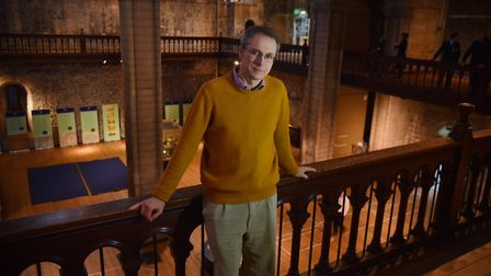 A tour of the castle museum's keep before it closes for a complete redesignDr Tim Pestell Byline: So