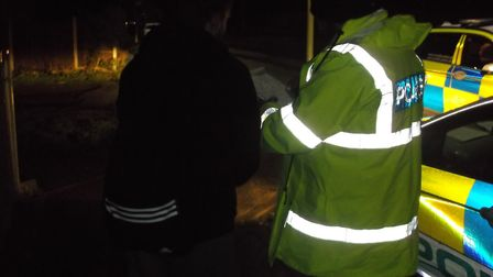 Suffolk Police carried out checks in Lowestoft in the wake of the rape. Picture: Suffolk Police