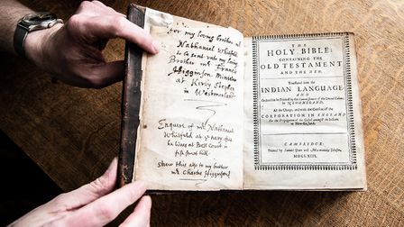 Only 40 copies of The Eliot Bible remains - Blickling Estate has one of them. Picture: Rah Petherbri