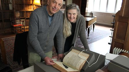 Neville and Joan Gabie's work has been inspired by six books in Blickling's extensive collections. P