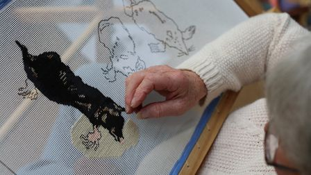 After Gesner has been a collaborative project with Blickling's volunteers helping to create a series