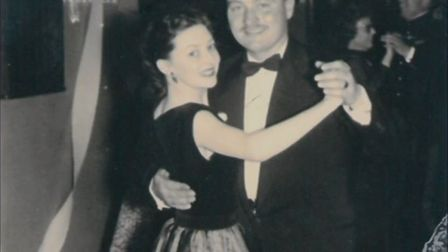 Colin Thackery and wife Joan Picture: BGT