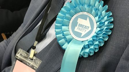 The Brexit Party were the big winners in the European election in the East of England. Picture: NEIL