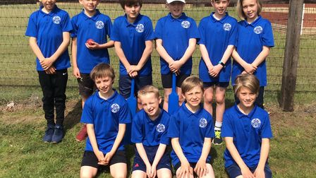 Some Year 5 and 6 children from Astley Primary School enjoyed playing Kwik Cricket at Great Witching