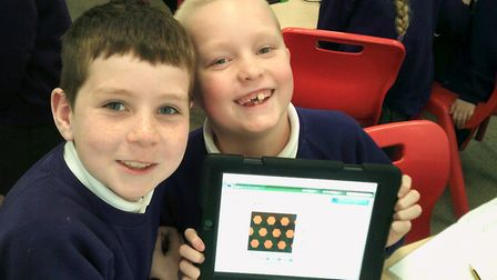 Year 4 at Northfield St Nicholas Primary Academy experimented with different shapes of differing siz