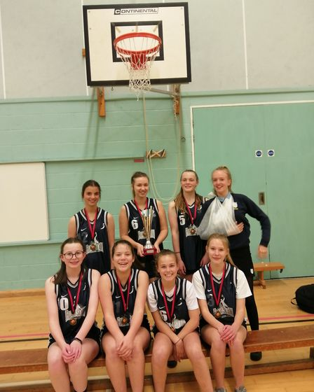 Framingham Earl High School's Basketball teams have won the U14 and U16 Girls Norwich and District S