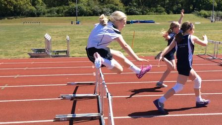 Langley Preparatory School at Taverham Hall's team of athletes performed at the Junior Area Champion