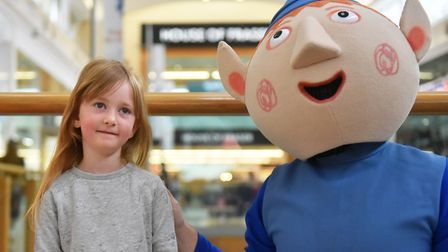 Ben and Holly visited youngsters around intuChapelfield ahead of their live shows at the Norwich The