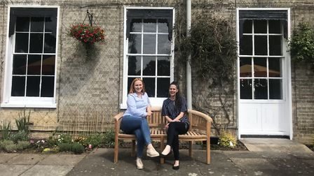 Sales and Events Manager, Stephanie Emery (left) and General Manager, Julie Oliver (right) outside t