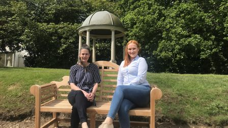 Sales and Events Manager, Stephanie Emery (right) and General Manager, Julie Oliver (left) outside t