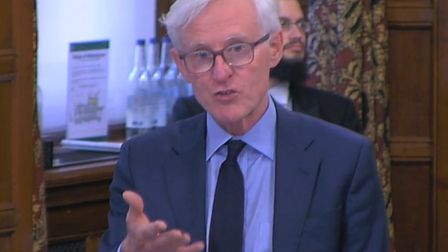 Norman Lamb during the Westminster Hall debate. Photo: UK Parliament