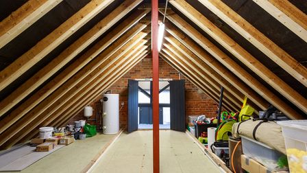 Pictured: The attic of the 1st Bungay sea scouts. Picture: Nicholas Kermy