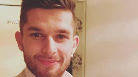 Callum Speck, 23, died in hospital after being found at his home in Norwich. Picture: Speck family