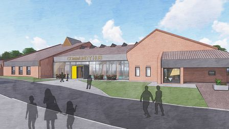 Artist's impressions of new community hub at former Jubilee Hall site. Supplied by YMCA Norfolk.
