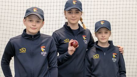 Downham Preparatory School pupils William and Esther and their older sister Martha will play for the