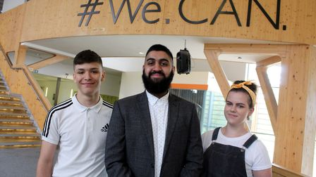 Musharaf Mushy Asghar who overcame his stammer on Channel 4's Educating Yorkshire shared his inspira