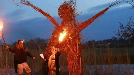 Mr Smith said his favourite celebration was Beltane, as it coincided with his birthday. Picture: Con