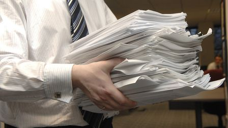 Breckland Council has bought 39 iPads to cut back on its paper used. Picture: Colin Finch