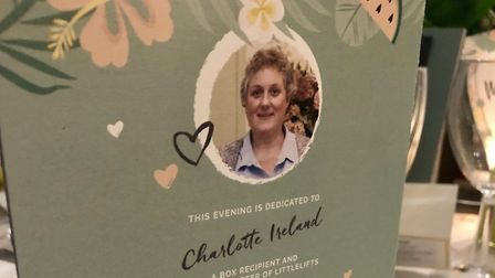 The Littlelifts May Ball was dedicated to Charlotte Ireland, who died in March. Photo: Geraldine Sco