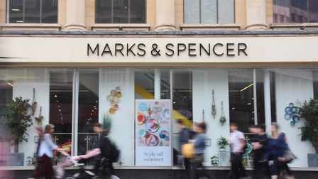 Marks & Spencer in Norwich. Pic: Archant.
